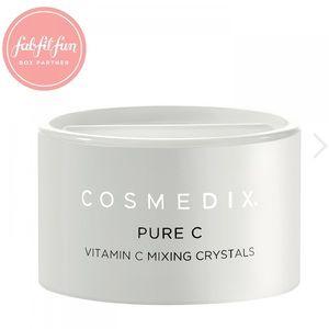 Fabfitfab Cosmedix pure c vitamin c mixing crystal